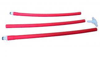 doppi tubi flessibili per pompe per vuoto