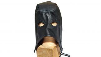 kvalitní kožená BDSM maska kat