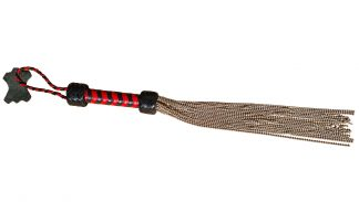 reeds steel red-black leather handle