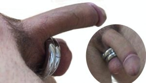 Magnet cock ring