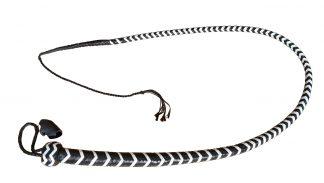 długi bat czarno-biały
