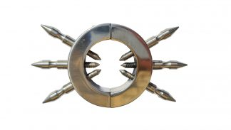Pierścień koguta lub jądro kuli wykonane z mocnej stali