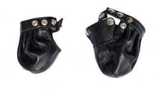 testicle bag genuine leather