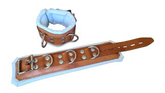 quality leather handcuffs made of core calfskin