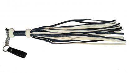 leatherette reeds white black 52 cm